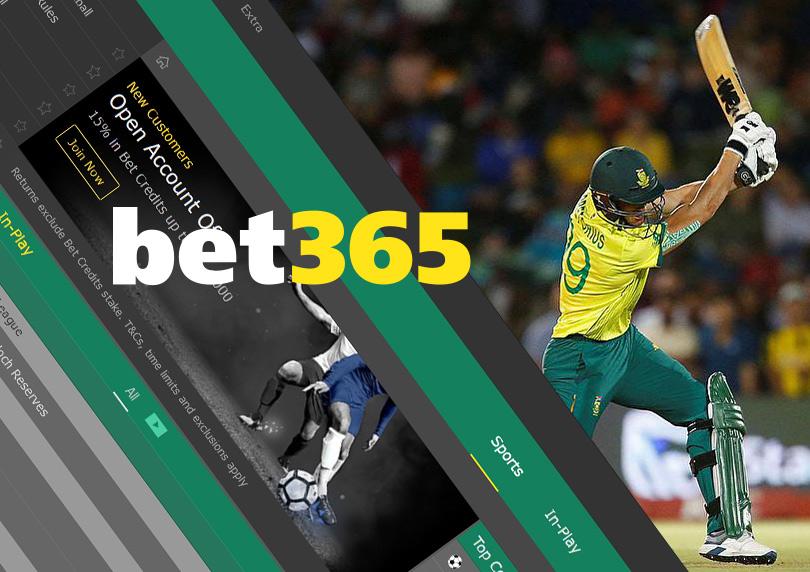 Bet365 cricket.