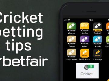 Cricket betting tips Betfair.