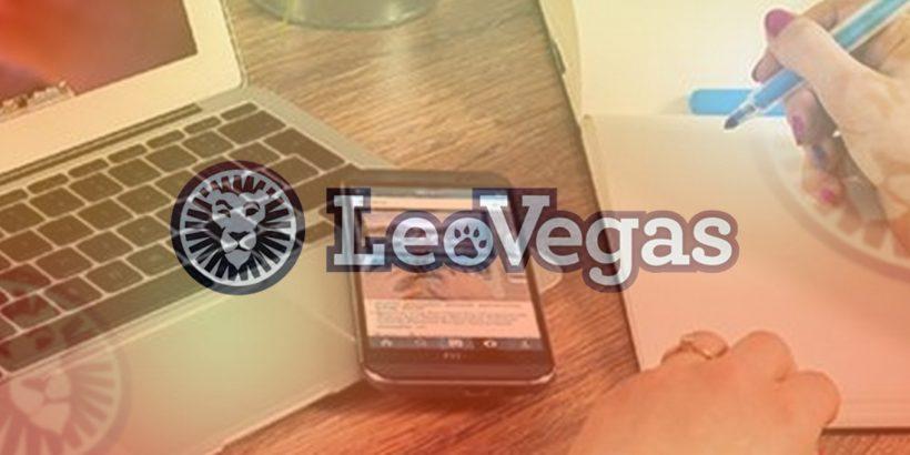 LeoVegas for getting