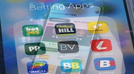 place bets in mobile applications